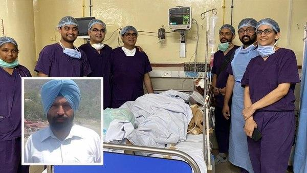 PGI चंडीगढ़ के डॉक्टरों ने किया कमाल, पुलिस अफसर का कटा हाथ जोड़ा