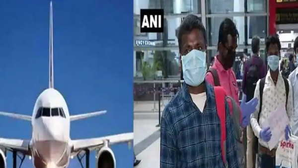 jharkhand ranchi 174 migrant labours come through flight