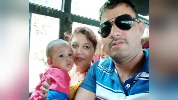 11 साल बाद जन्मी बेटी को सिपाही पति की गोद में छोड़ कोरोना मरीजों की सेवा कर रही ये मां