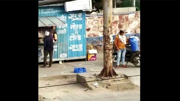 कैमरे में कैद हुई दूध वाले की करतूत, भरतपुर में बढ़ा कोरोना संक्रमण का खतरा, वीडियो वायरल