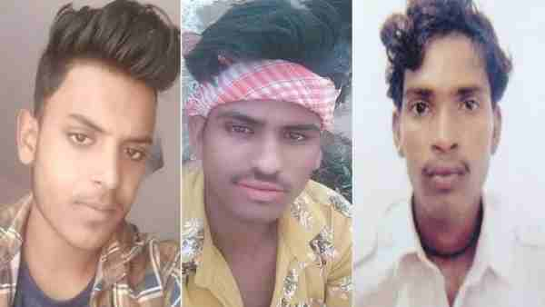 Three friends died in a road accident in Hardoi