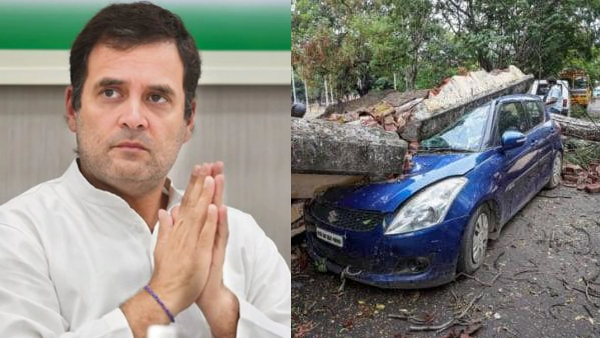 Cyclone Amphan Rahul Gandhi expressed grief over the devastation appeal to Congress workers