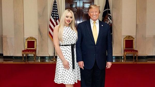 यह भी पढ़ें-कौन हैं ट्रंप की छोटी बेटी टिफनी जिनके लॉ ग्रेजुएट होने पर राष्ट्रपति ने दी बधाई