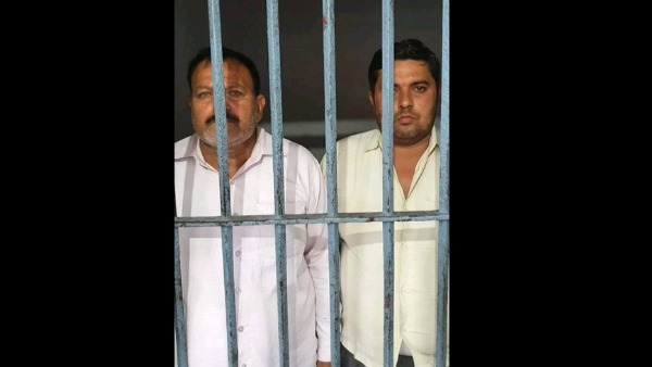 sambhal double murder case two accused arrested