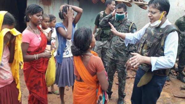 गिरिडीहः नक्सली को मारने के लिए पहुंच गए 500 आदिवासी फिर सात लोगों को जिंदा जलाने का किया प्रयास