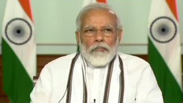 हमारी 1 इंच जमीन पर कोई आंख नहीं दिखा सकता, सीमाओं की रक्षा में लगे हैं जवान: PM मोदी