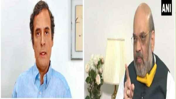 यह पढ़ें: राहुल गांधी पर अमित शाह का पलटवार.....'पाकिस्तान और चीन को खुश करने वाला बयान नहीं देना चाहिए'