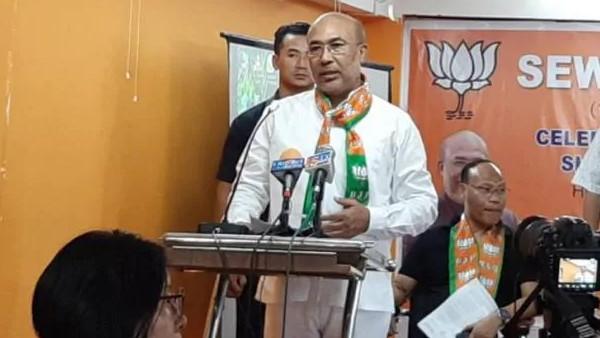 कांग्रेस का मणिपुर में 'रिवर्स ऑपरेशन कमल', सरकार के साथ-साथ राज्यसभा सीट गंवा सकती है BJP