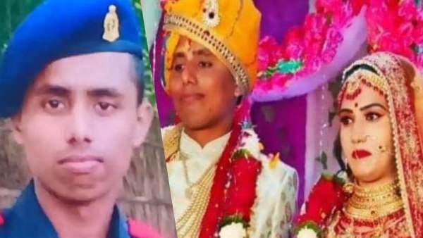 शहीद दीपक सिंह ने 15 दिन पहले ही पत्नी से कही थी कश्मीरी शॉल लाने की बात, 8 महीने पहले हुई शादी