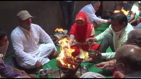 हरियाणा में 5 परिवारों की हिंदुओं में 'घर वापसी', बोले- औरंगजेब के डर से पूर्वज मुस्लिम बन गए थे