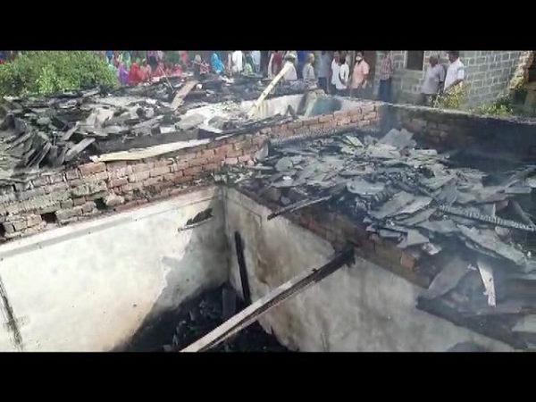 हिमाचल प्रदेश: 2 बच्चों के साथ सो रही महिला के घर में अचानक लगी आग, कोई उन्हें बचा न सका, देखें वीडियो