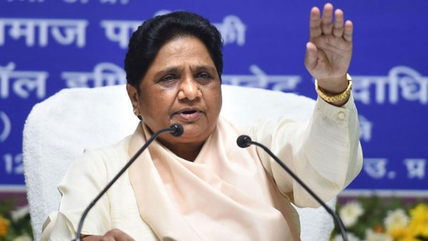 mayawati says BSP stands with BJP on India China border issue