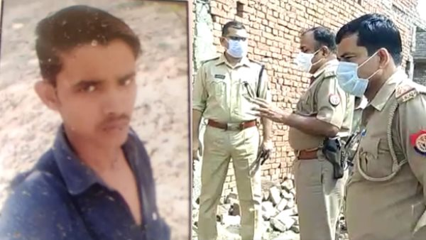 drunk father killed his son in meerut