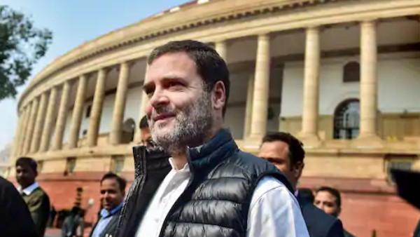 राजीव गांधी की खींची तस्वीर ट्वीट कर राहुल ने पूछा- क्या भारतीय जमीन पर चीन ने कब्जा किया है?