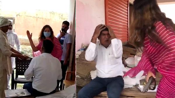 पढ़ें: भाजपा की टिकटॉक स्टार सोनाली फोगाट ने सरकारी कर्मचारी को चप्पल से पीटा, चांटे भी मारे