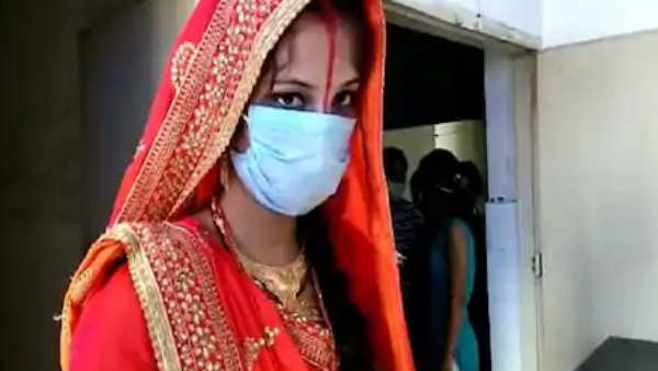 newly married bride rached hospital for screening of coronavirus