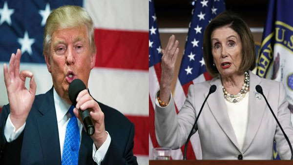 Nancy Pelosi says donald Trump will befumigated out if he refuses to leave after White House loss