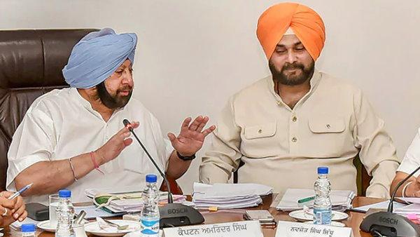 नवजोत सिंह सिद्धू ने CM अमरिंदर को लिखा पत्र, कहा-मेरे पद छोड़ते ही थम गए विकास कार्य
