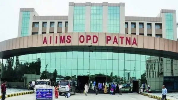 A covid patient allegedly jumped from fifth floor of Patna AIIMS