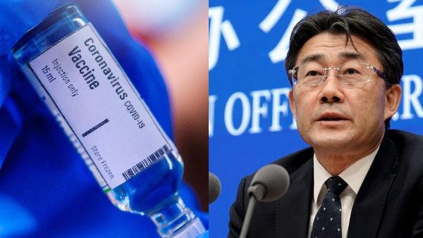 चीन के टॉप अफसर का खुलासा- मुझे भी लगाई गई कोरोना की वैक्सीन
