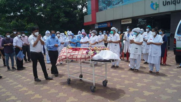 Front Fighter Male Nurse Dies due to Coronavirus in surat