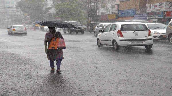 दिल्ली-NCR में मौसम का बदला मिजाज, झमाझम बारिश से गर्मी से मिली राहत