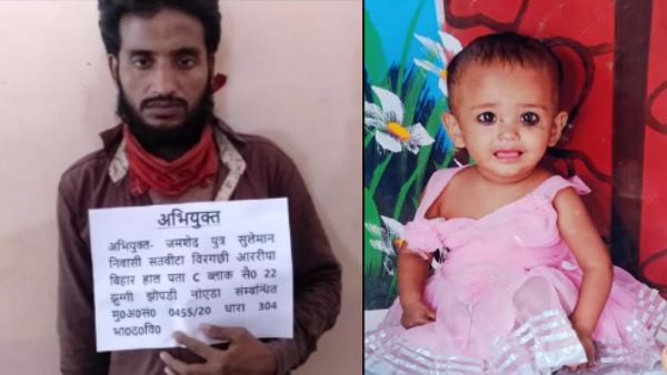 toddler killed in parents fight father arrested noida news