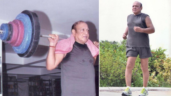 Ex CM shankar singh vaghela gym video goes to viral on social sites