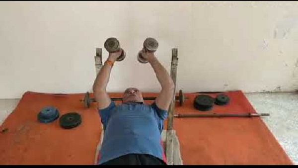 Watch Video: PM Modis friend and former Chief Minister Shankarsinh Vaghela gave fitness goals to youth