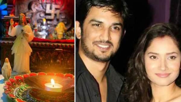 ऑनलाइन प्रोटेस्ट में अंकिता लोखंडे ने भी जलाया सुशांत के लिए दीया, इमोशनल मैसेज ...