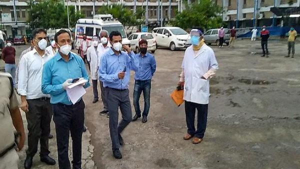 पटना के कोरोना अस्पतालों की व्यवस्था से केंद्रीय टीम नाखुश, कहा- यहां संक्रमण फैलने का खतरा