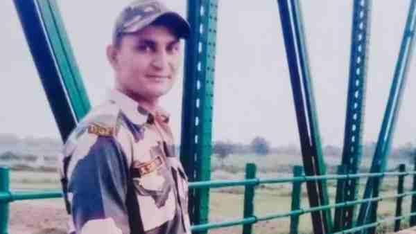 bsf soldier Anuj Saini of martyred in Naxalite attack in west bengal