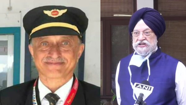 Minister Hardeep Puri says Deepak Sathe one of our most experienced distinguished commanders