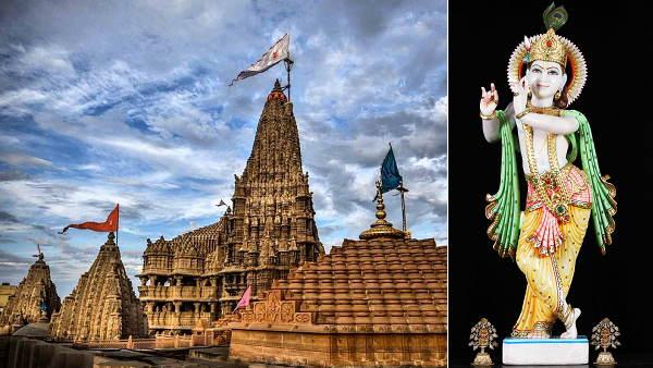 कृष्ण जन्माष्टमी: पहली बार द्वारकाधीश मंदिर के ऑनलाइन दर्शन