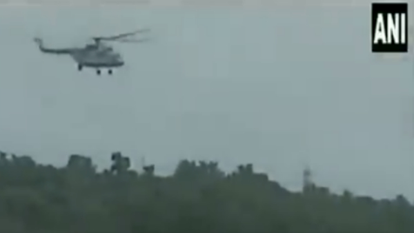 Indian Air Force helicopter rescued Chhindwara Man from river after 24 hours