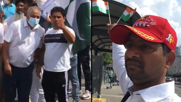 VIDEO: भारत के खिलाफ नारे लगा रहे सैकड़ों पाकिस्तानियों से भिड़ा अकेला हिन्दुस्तानी, ऐसे सिखाया सबक