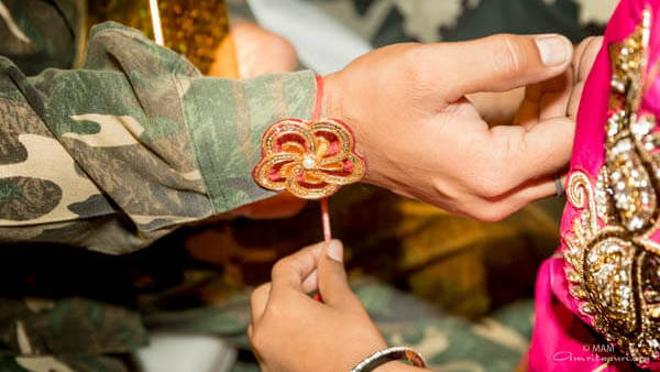 rakhi for soldiers