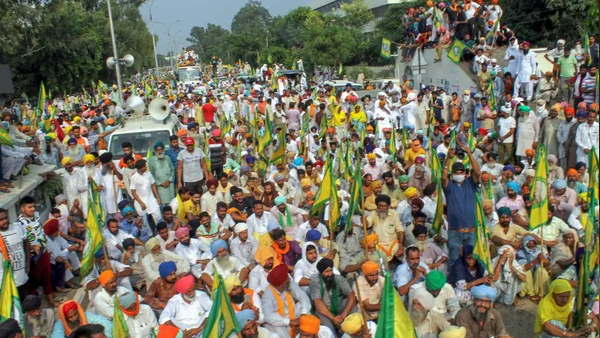 bharat band farmer protest against agriculture bills punjab haryana