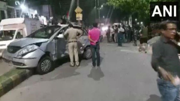 Meerut: One person died after two speeding cars collided head-on near Sohrab Gate Bus Stand in the city.