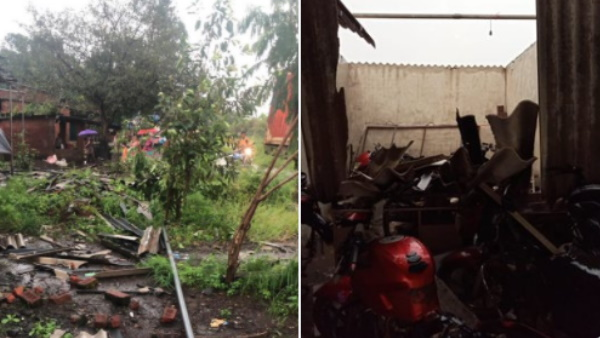lightning strikes hits seven people in Palghar Maharashtra two people lost his life