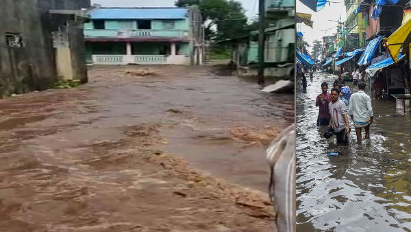 monsoon rains: 11 Inches Of Rainfall In Umarpada, surat district of gujarat