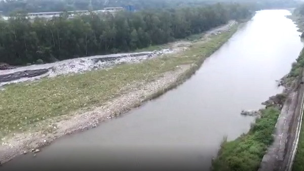 a farmer drowned in the river, Himachal police started search operation with drone