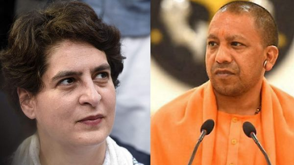 priyanka gandhi hits out at yogi govt over mahoba businessman murder case