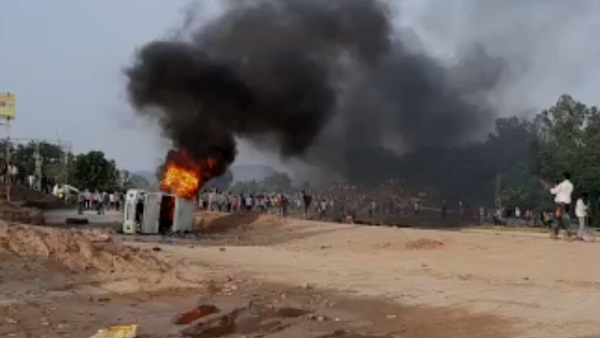 Dungarpur Protest Video : उग्र हुए बेरोजगार, SP की गाड़ी समेत 3 वाहन फूंके, 11 पुलिसकर्मी घायल