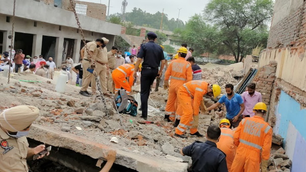 Punjab building collapsed in Dera Bassi of Mohali district