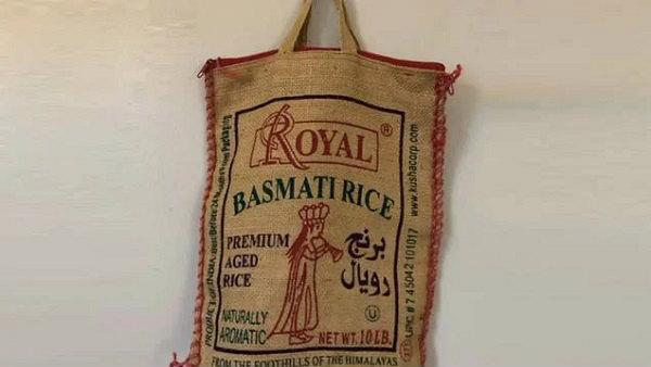 विदेश में अनमोल है बासमती चावल की खाली बोरी, हजारों रुपये में ऑनलाइन हो रही है बिक्री