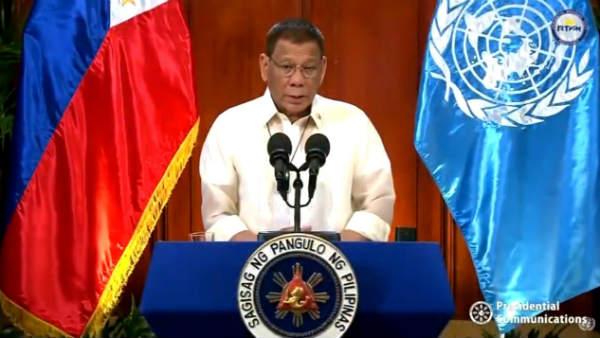<strong>यह भी पढ़ें-चीन पर हमलावर हुए फिलीपींस के राष्ट्रपति दुर्तेते</strong>