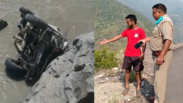 car overturned into dam in shimla mother daughter lost life