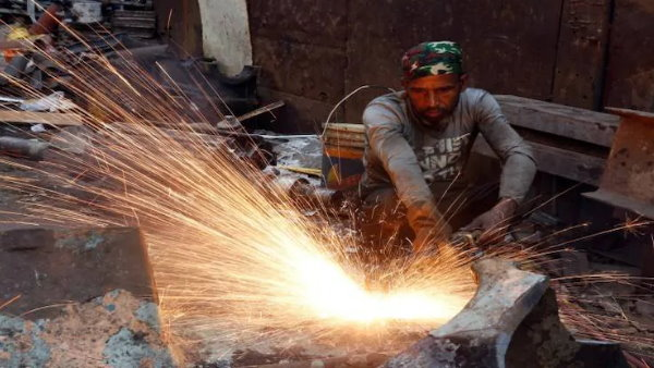 Industrial production declines by 10.4 per cent in July