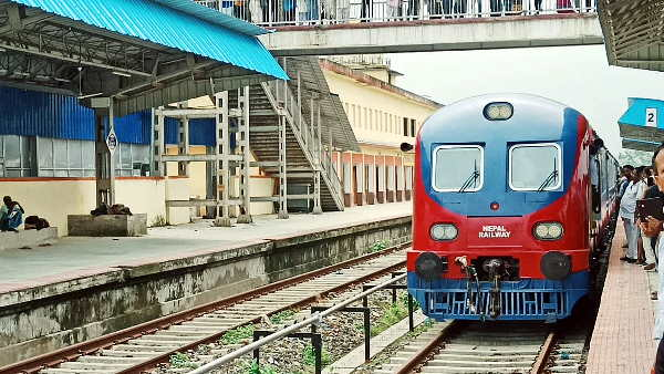 new train from india to Nepal: successful trial from madhubani to jaynagar